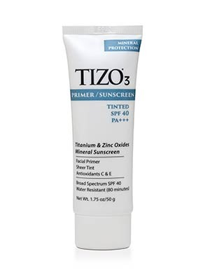 TIZO3 PRIMER/SUNSCREEN TINTED SPF 40